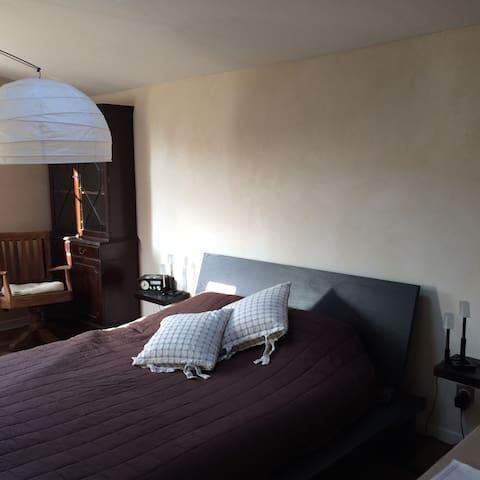 Grande chambre avec SdB. - Les Clouzeaux - Rumah
