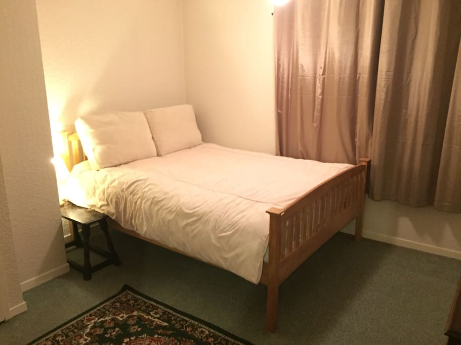 King size bed - very comfy and cosy