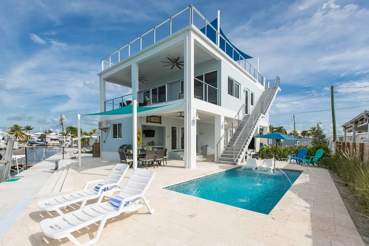 Anglers Terrace, Private heated Pool, Rooftop Ter.