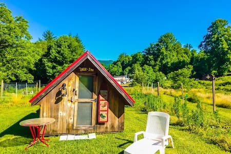 The Chick-Inn:  5 Mi from the Blue Ridge Pkwy