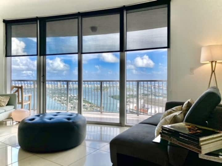 Waterviews & Sunrise #WFM, Stylish 2BDR condo