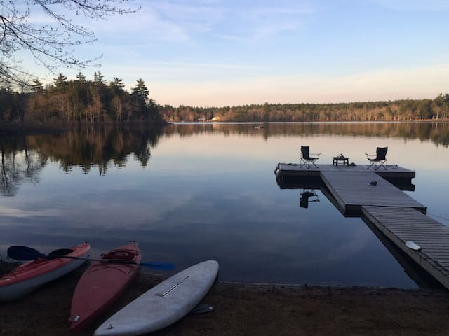 Peace and calm...go for a morning paddle