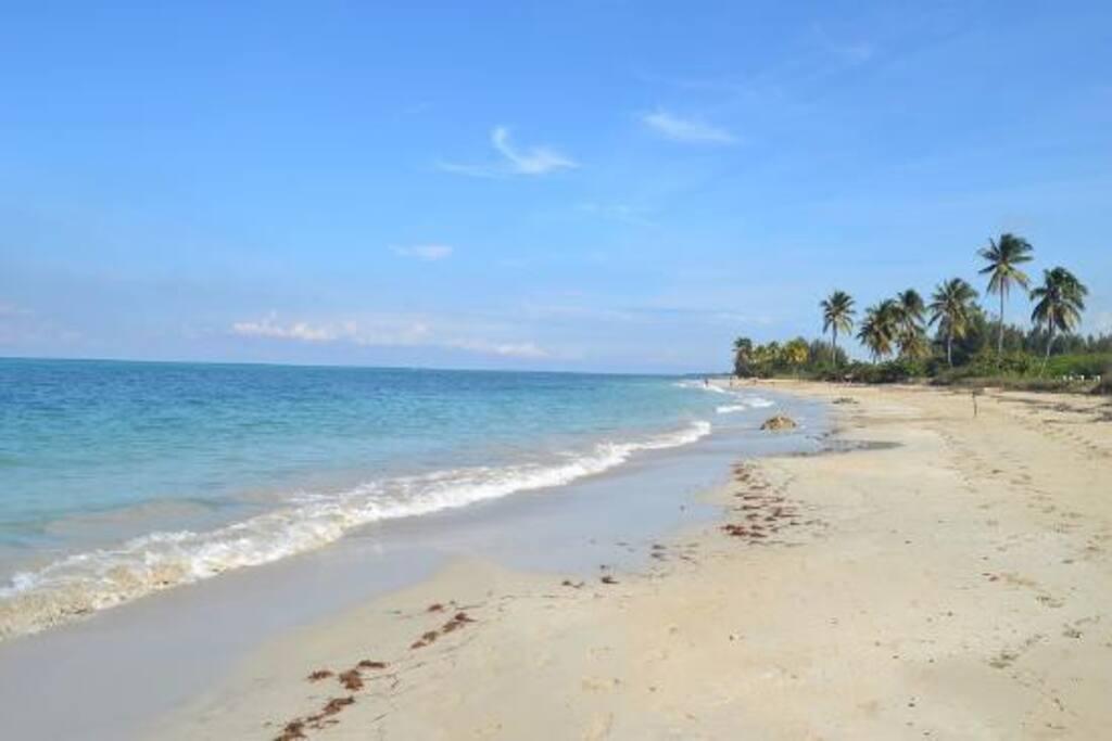 Santa Maria Beach! A ten-minute walk from casa SantaMareya.
