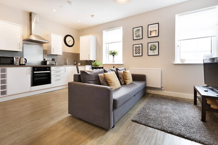 Beautiful 2 Bed City Apartment
