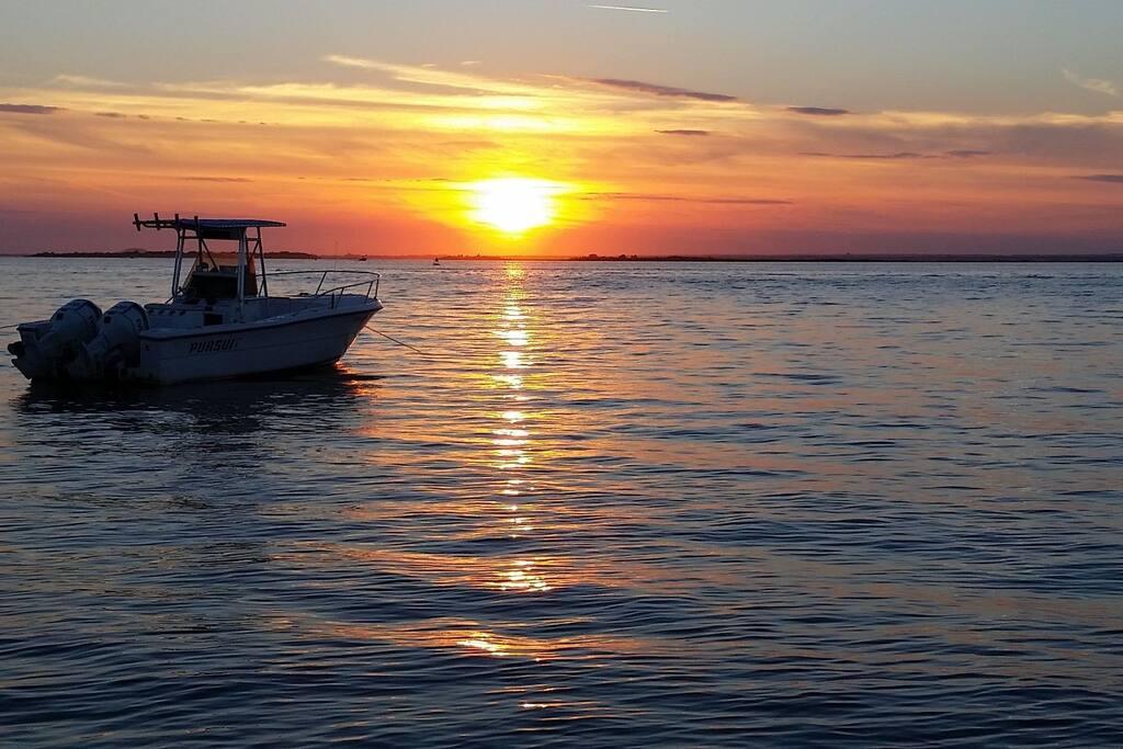 Sunsets From Ocean Beach