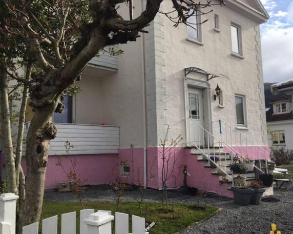 Sjarmerende leilighet i Bergen mellom de syv fjell