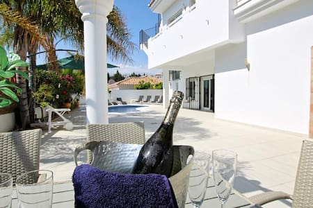 Villa La Cala de Mijas with hot tub & heated pool