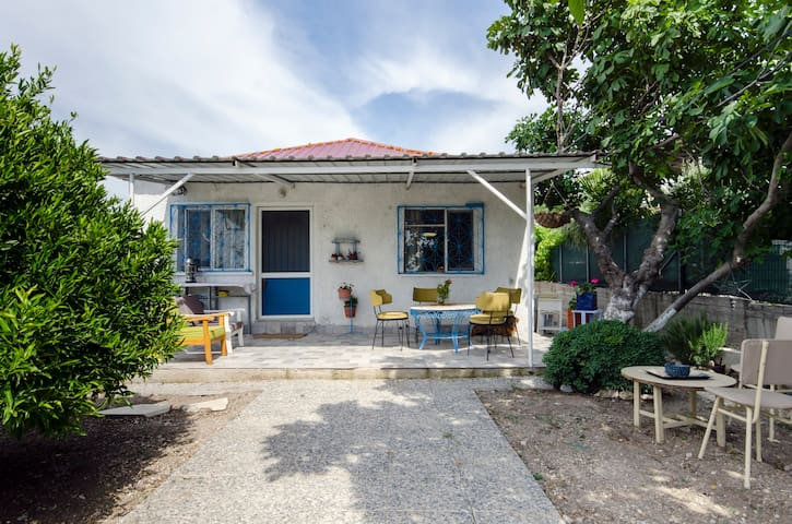 'Vineyard Cottage' in Urla for nature lovers... - Kuşçular Köyü - Huis