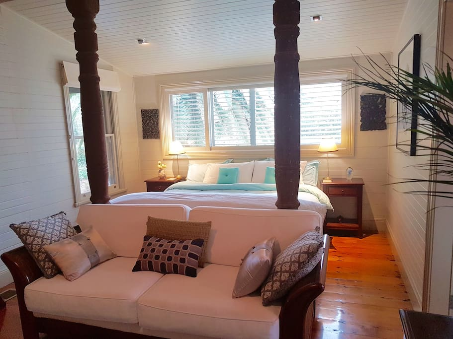 Another view of the sumptuous King Suite