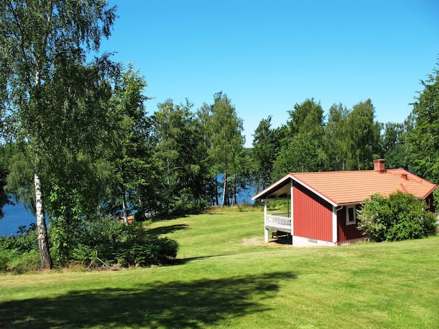 Fishing hut in Olofström for 8 persons