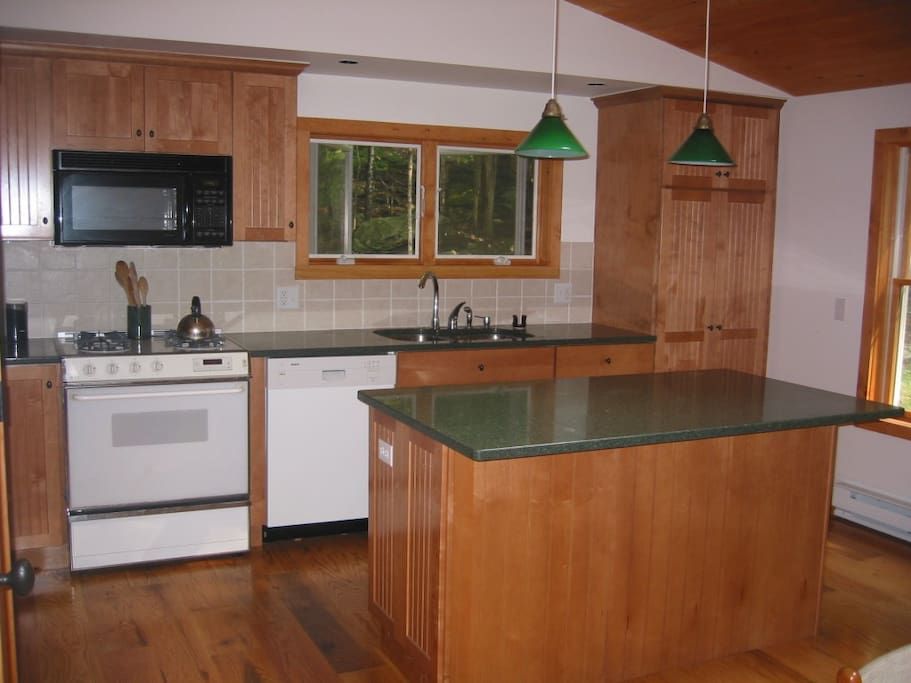 Kitchen: A great place to cook.