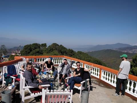 Langtang view Nagarkot bed and breakfast