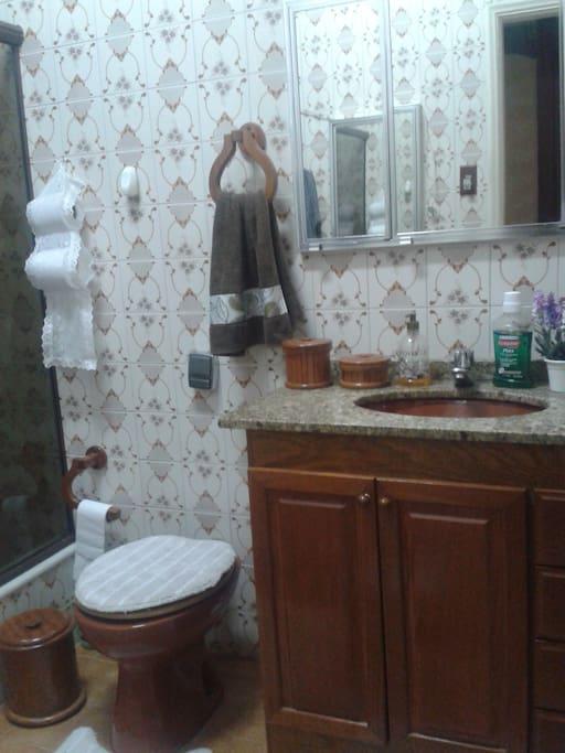 The bathroom - toilet