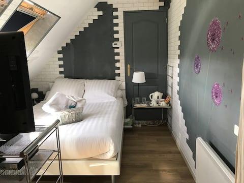 jolie chambre Amérique proche de Chartres