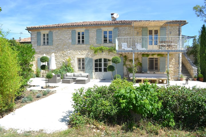 Chambre D'Hote in tranquil setting near Uzes