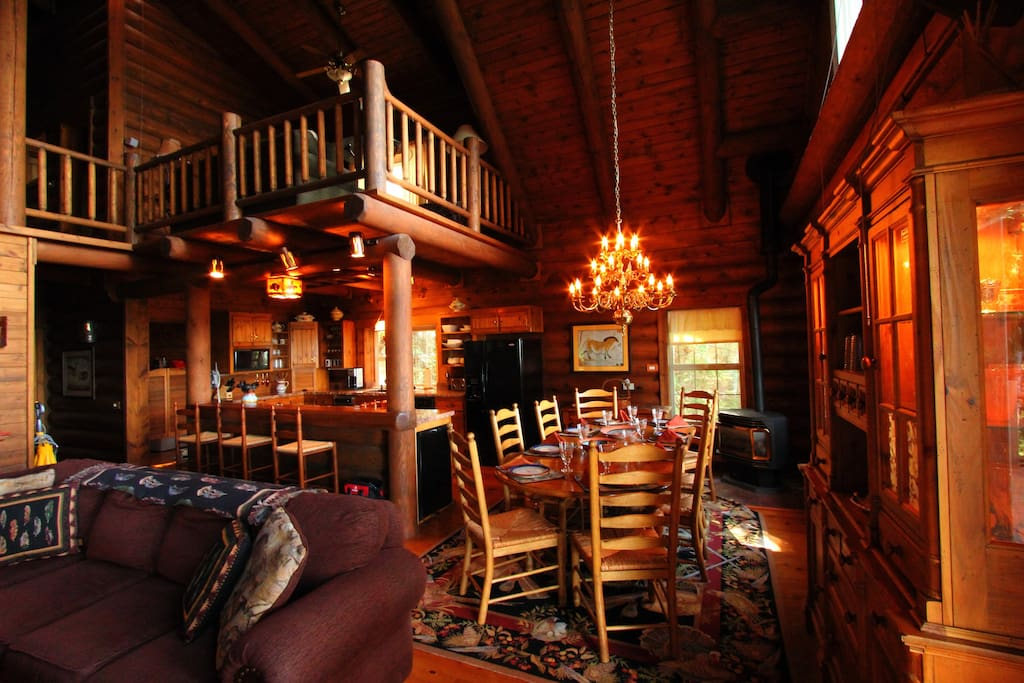 Log home book by bedroom rates cabins for rent in for Log home books