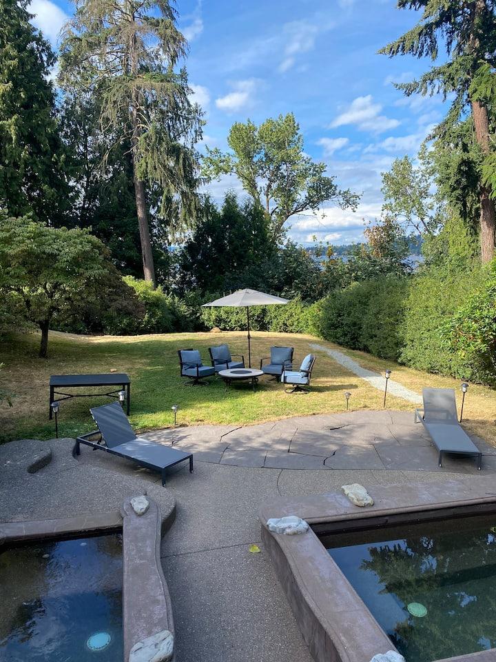Beautiful Oasis in Seattle's Seward Park!