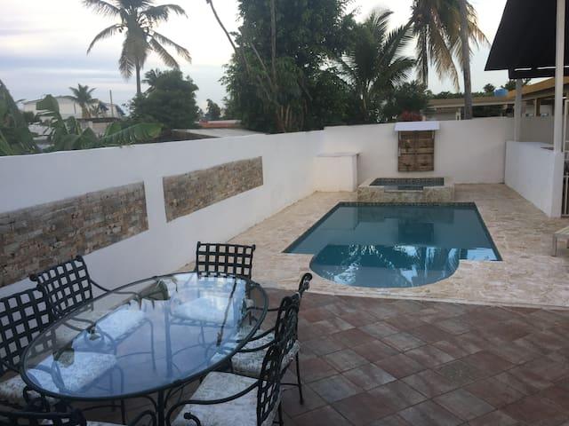 Beach Front House in Dorado del Mar