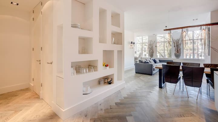 Boutique luxe apt. at PRINSENGRACHT