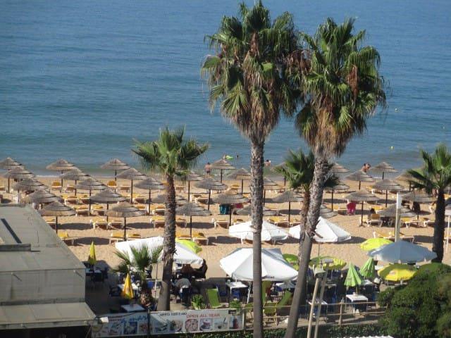Sea & Beach view apartment - Quarteira - Apartment