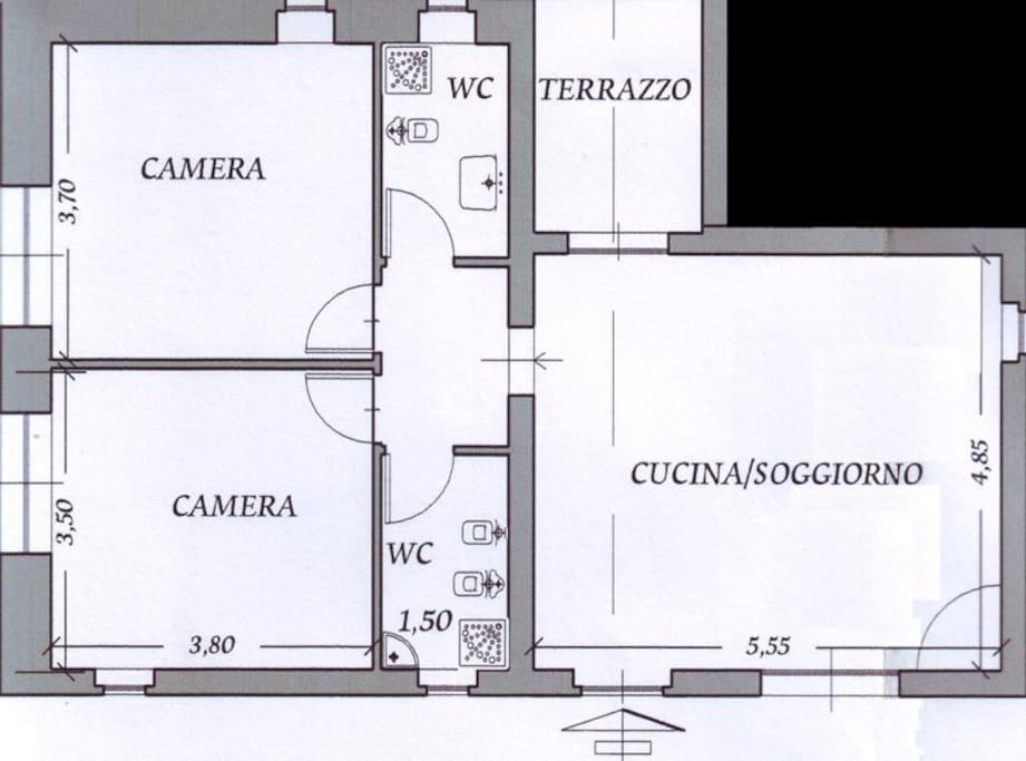 Planimetria 'Casa Dalia'