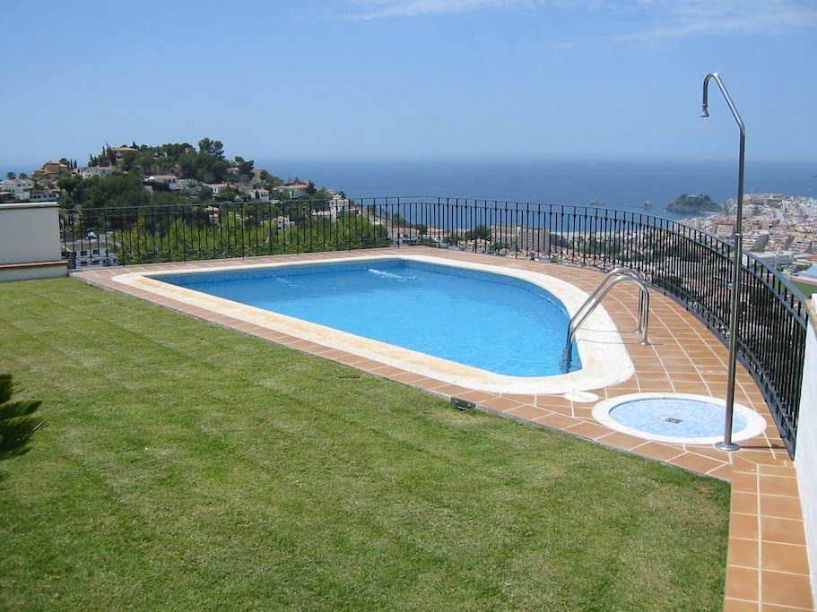 Magn fica casa con vistas casas en alquiler en almu car andaluc a espa a - Alquiler casa almunecar ...