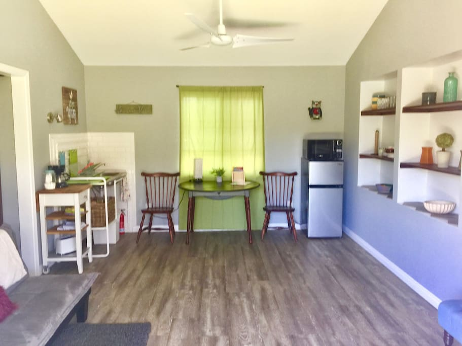 Front Room and Kitchenette