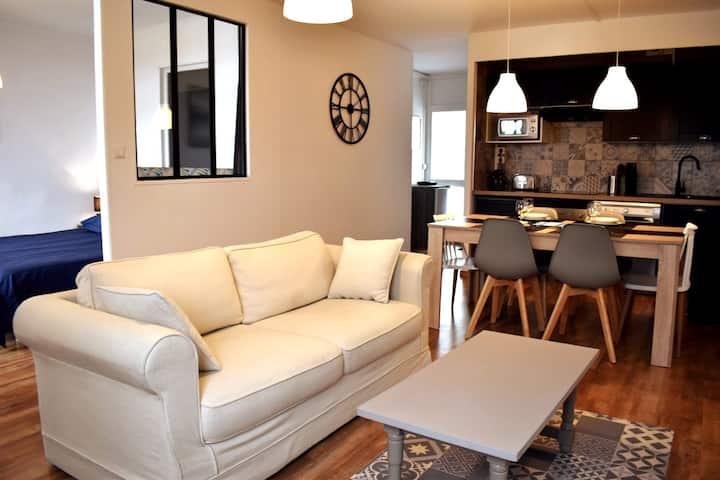 Ravissant appartement au calme avec aperçue bassin