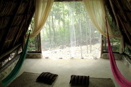 The MAYAN room experience - Tulum - Natur-Lodge