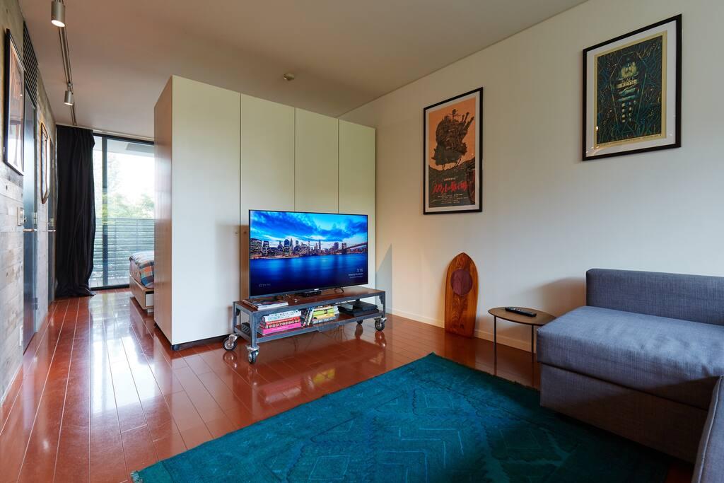 Living Area & Hallway