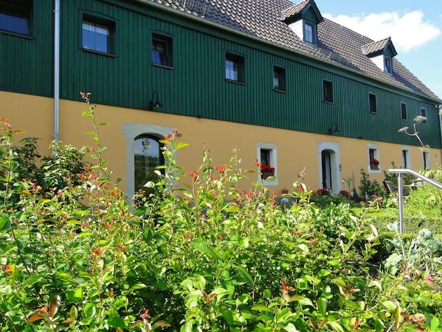 Ferienwohnung 2009 ruhige Lage 70m² - Bad Gottleuba-Berggießhübel - Appartement