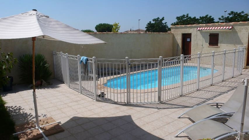 PRIVATE POOL VILLA CLOSE NF - Vendargues - Ház