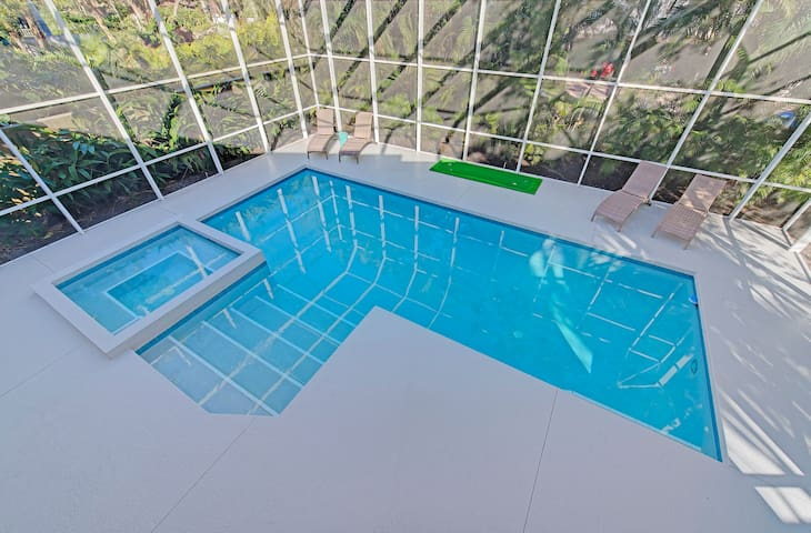 Family friendly with large pool