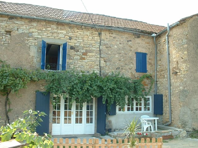 Renovated farm with private heated swimming pool.