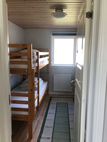 Bedroom nr 2 with bunkbed