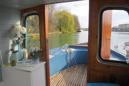 Bateau-Studio 4p Paris à20min RER D - Vigneux-sur-Seine - Boat