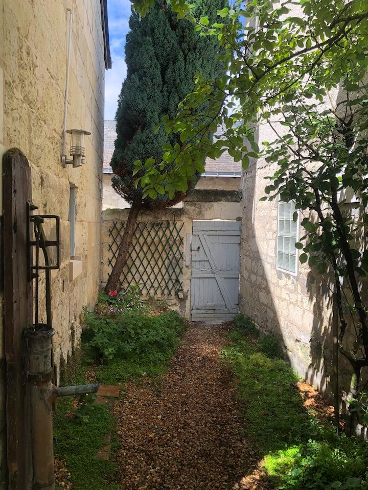 Maison de village de Touraine en bord de Loire