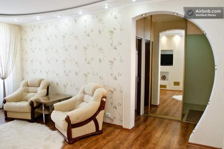 Cozy designer flat in the heart of Chisinau