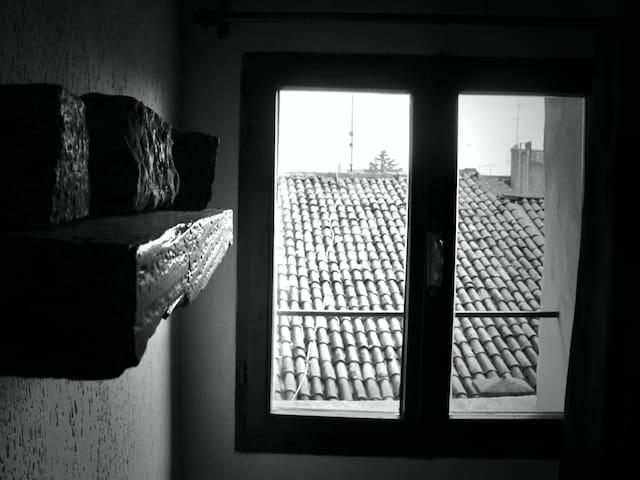 Un nido sui tetti di Ferrara