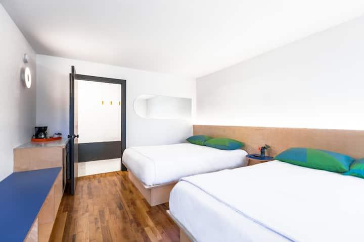 The Amaryllis Room at the Iris Motel