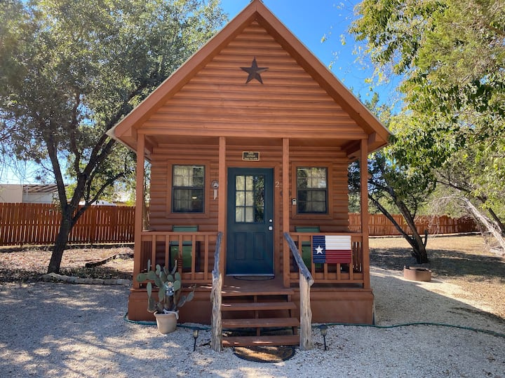 Indians Cabin at Antler Cabins | Bandera, TX.