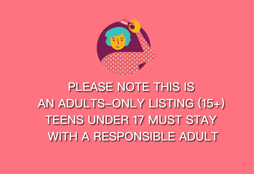 I offer a quiet environment, I don't have kids or pets and only take adult-only bookings. Pets are also not allowed in this listing.