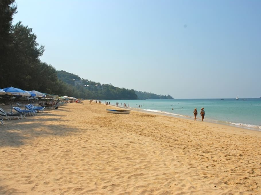 Naithon Beach in January