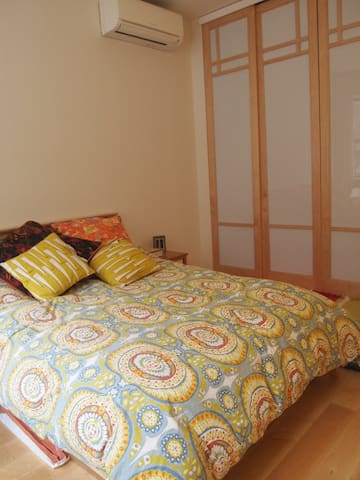 Sunny Bedroom for two - Nova York - Casa