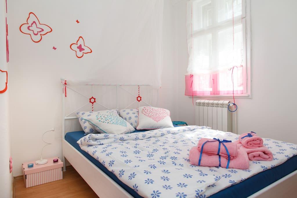 Where you will sleep like a baby :-)