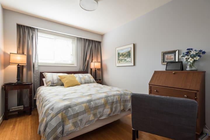 Warm, Inviting Guest Space in Quiet Neighbourhood