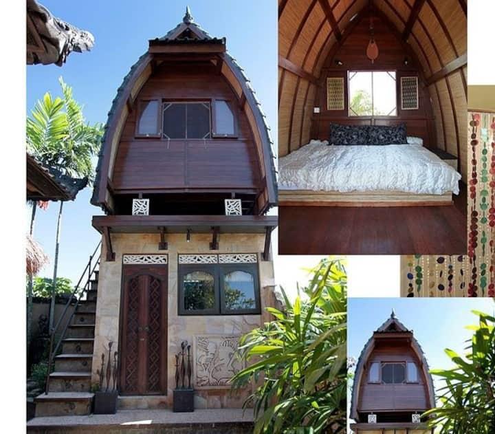 Backpakers little heaven ( Balinese Lumbung )