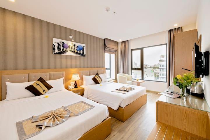 2 Bedrooms@Breakfast@Top Pool@Spa@Near the Beach