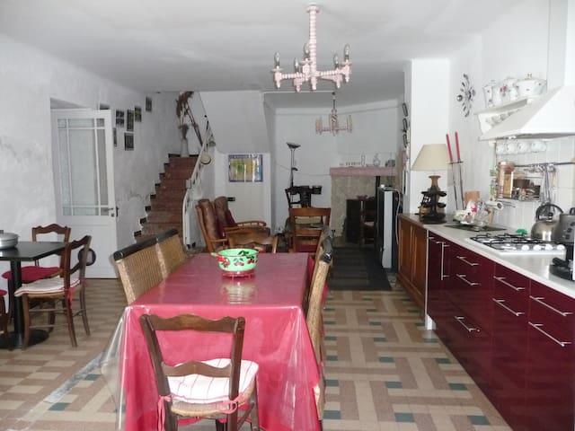 Maison à 2 pas du canal du midi - La Redorte - Casa