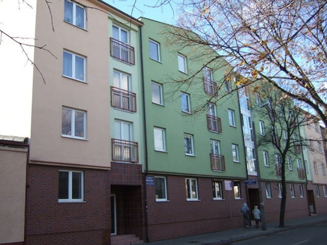 Centrum - mieszkanie z miejscem do parkowania auta - Włocławek - Daire